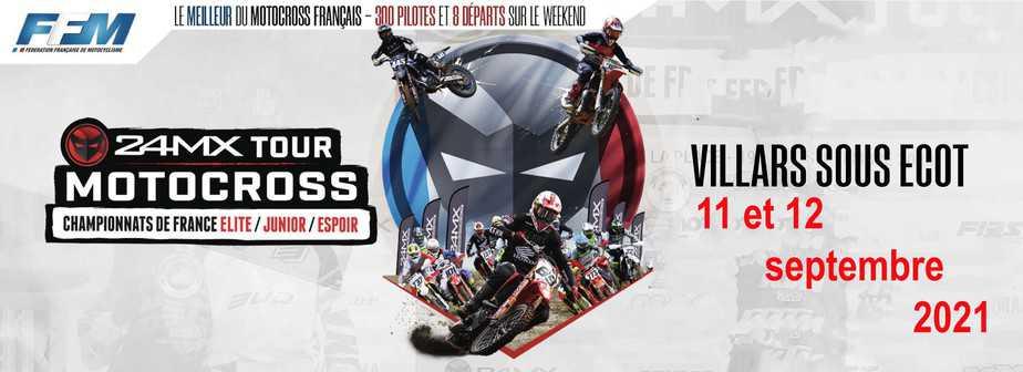 Championnat de France MOTO CROSS MX24